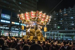 海神社秋祭 東垂水布団太鼓 レバンテ広場 平成30年