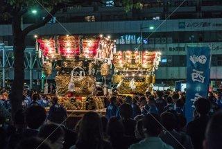 海神社秋祭 西垂水 東垂水布団太鼓 レバンテ広場 平成30年