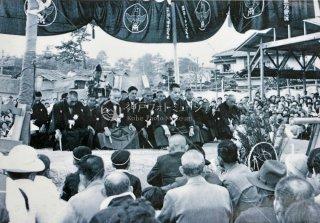 大相撲 白藤家七回忌記念儀式