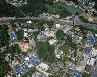 垂水区千鳥が丘 第二神明鳥瞰 平成元年 1989