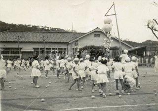 須磨浦小学校 秋季運動会鈴割 昭和29 1954