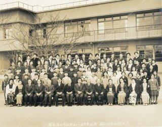 須磨浦小学校第五十七回卒業記念 昭和三十五年二月二十七日