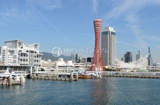 かもめりあ中突堤中央ターミナル 神戸ポートタワー ホテルオークラ