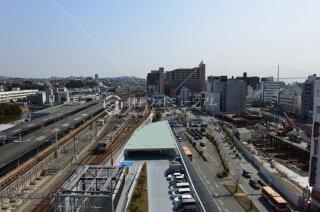 明石駅前再開発 山陽電車 JR 平成27年 2015.3