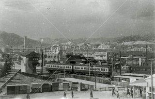 山陽・兵庫駅付近 昭和36年