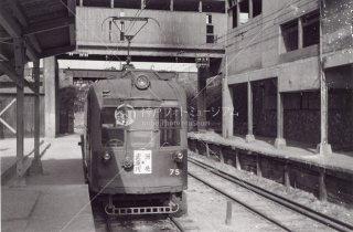 武庫川 洲先 阪神武庫川線  昭和30年代