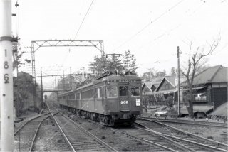 阪急902 夙川 昭和34.2 1959
