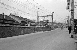 近畿日本鉄道 奈良駅-油阪駅間 1962年3月