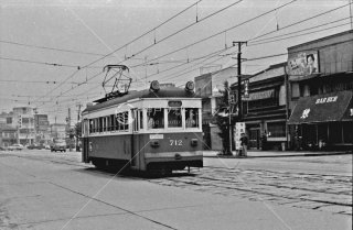 南海電鉄 和歌山軌道線 No.712 1970年6月