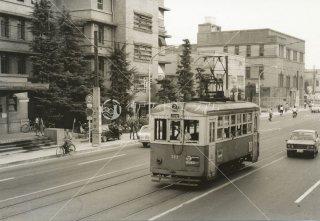 岡山電軌 内山下 303 昭和44.8 1969