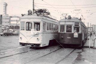 広島電鉄 宮島線 昭和41年