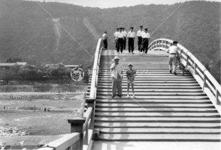 錦帯橋 昭和30年頃
