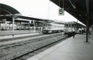 高松駅 特急南風 しおかぜ 急行いよ 昭和54 1979