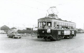 西鉄506 博多駅前 昭和39.7 1964