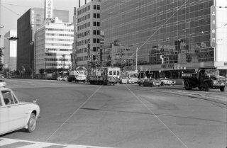 西鉄 博多駅前 福岡市内線 1975年11月