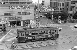 西鉄 天神 福岡市内線 500形515 1975年11月