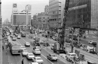 西鉄 天神 福岡市内線 1975年11月