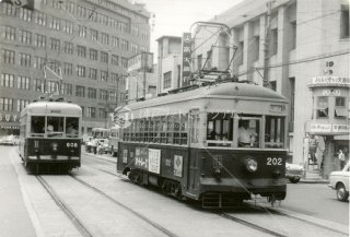 西鉄202 魚町 昭和39.7 1964