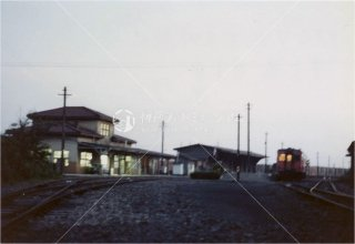 甘木駅 甘木鉄道 福岡県朝倉市 昭和56 1981