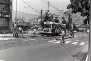 蛍茶屋駅 長崎市電 昭和56 1981