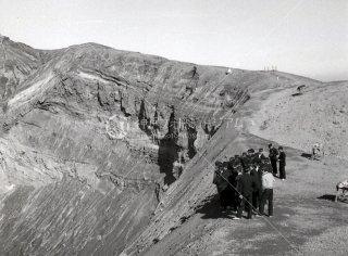 阿蘇山 火口 昭和39 1964