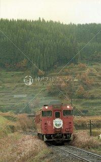 さよなら宮原線 恵良 町田鉄道 キハ40系 昭和59 1984