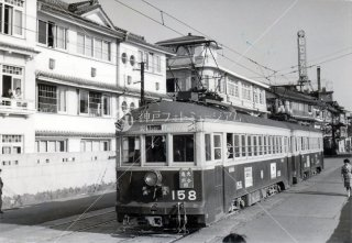 大分交通158 別大線 北浜 大分亀川間 昭和35.5 1960
