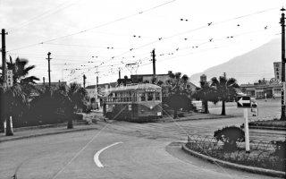鹿児島市電 鹿児島駅前 1963年11月