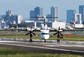 飛行機 伊丹空港