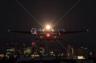 飛行機 離陸 伊丹空港