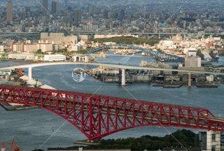 阪神高速5号湾岸線 なみはや大橋 千歳橋