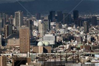 咲洲COSMO TOWER 京セラドーム遠望