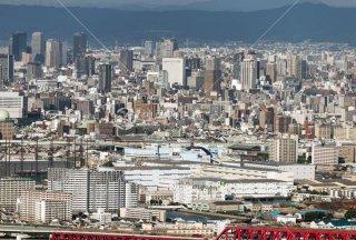 咲洲COSMO TOWER 大阪城遠望