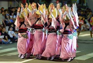 平和連 両国本町演舞場 平成29年