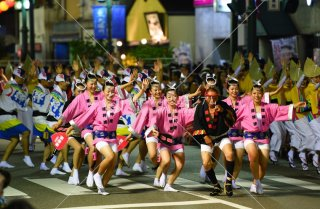 達粋連 両国本町演舞場 平成29年