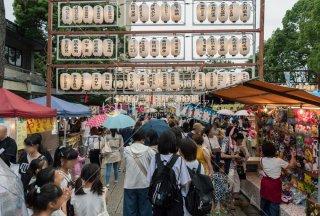 海神社 参道 夏祭り 令和元年
