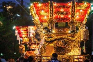 海神社秋祭 東高丸布団太鼓 イオンジェームス山 令和元年