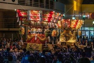 海神社秋祭 塩屋布団太鼓練り合わせ イオンジェームス山前 令和元年