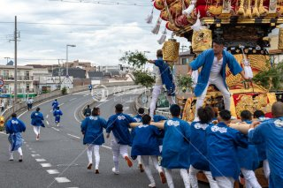 海神社秋祭 西垂水布団太鼓巡行 水道橋 令和元年