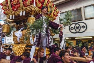 海神社秋祭 東垂水布団太鼓巡行 垂水センター街 令和元年