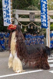 瑞丘八幡神社 獅子舞 例祭秋祭り 令和元年
