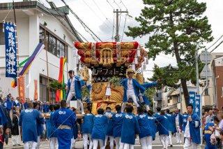 瑞丘八幡神社 西垂水 例祭秋祭り 令和元年