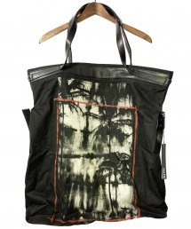 KMRii(ケムリ)Leather Combi 2way Tote/ Daydream【BLACK】
