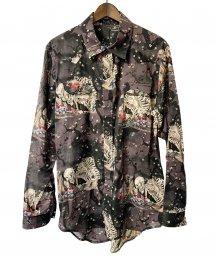 BLACK HONEY CHILI COOKIE(ブラックハニーチリクッキー)Skull Pattern Shirt