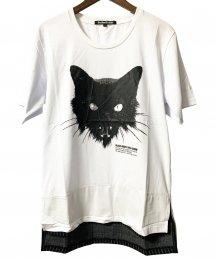 BLACK HONEY CHILI COOKIE(ブラックハニーチリクッキー)Kittyface Tee 【White】
