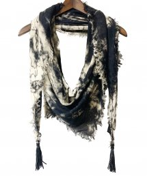 KMRii(ケムリ)Tie Dye Square Stole