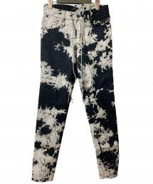 KMRii(ケムリ)Tie Dye Stretch Twill Pants