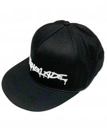 SWITCHBLADE (スイッチブレード) SB SPRAY LOGO CAP【Black × White】