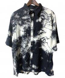 KMRii(ケムリ)Tie Dye Rayon Box Shirt