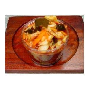熊本馬刺し屋の賄いお漬物手作り白菜キムチ「赤」